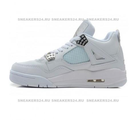 Кроссовки Nike Air Jordan 4 Retro White