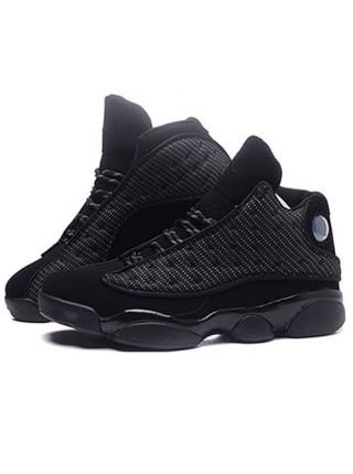Кроссовки Nike Air Jordan 13 Retro Flint All Black