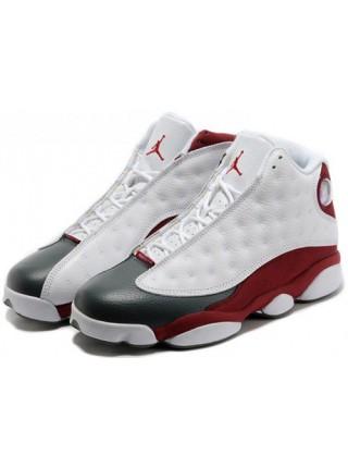 Кроссовки Nike Air Jordan 13 Retro Flint White/Burgundy