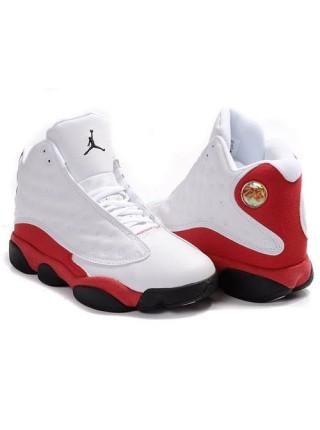 Кроссовки Nike Air Jordan 13 Retro Flint White/Red