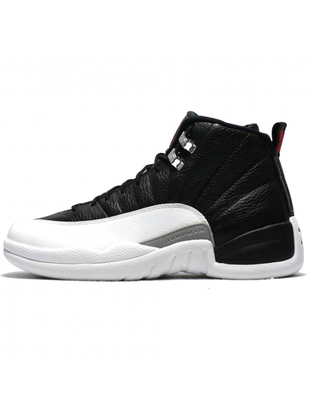 Кроссовки Nike Air Jordan 12 Retro Jumpmen Black/White/Grey
