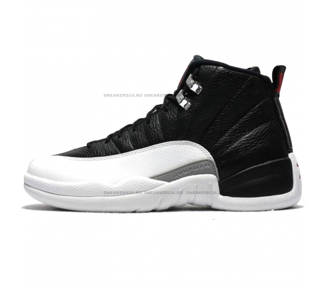 Кроссовки Nike Air Jordan 12 Retro Jumpmen Black/White/Grey