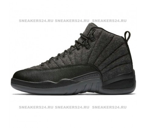 Кроссовки Nike Air Jordan 12 Retro Jumpmen Black Wolf