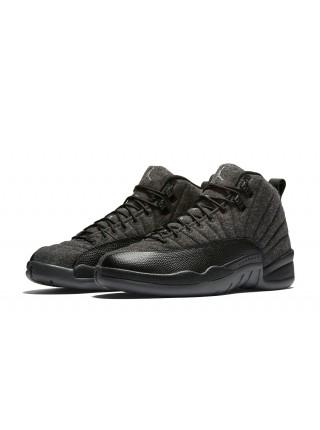 Кроссовки Nike Air Jordan 12 Retro Jumpmen Black Wolf