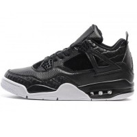 Кроссовки Nike Air Jordan 4 Retro Black/White