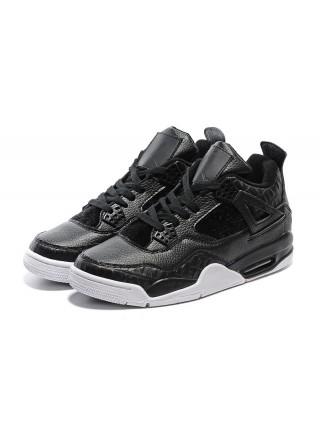 Кроссовки Nike Air Jordan 4 Retro Black/White