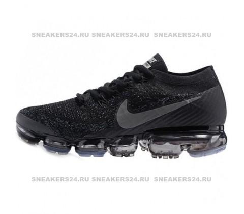 Кроссовки Nike Air Vapormax Flyknit Black/Dark Grey