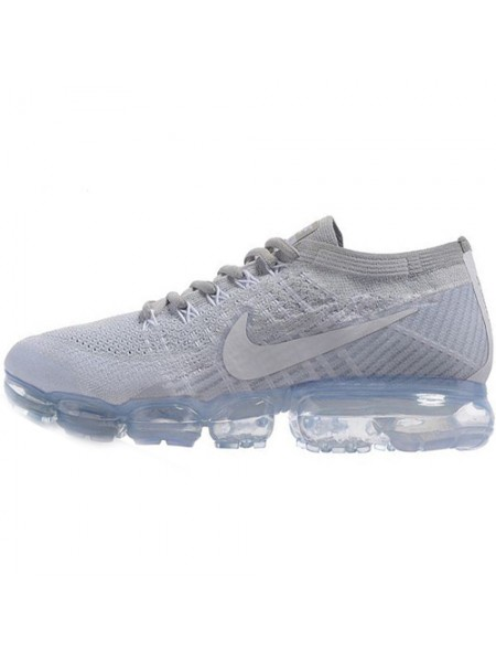 Кроссовки Nike Air Vapormax Flyknit White/Neutral Grey