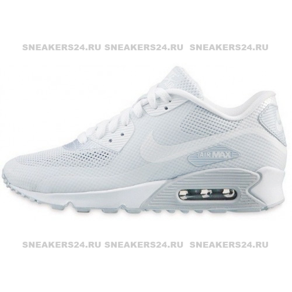 Кроссовки Nike Air Max 90 HyperFuse White