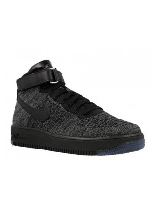 Кроссовки Nike Air Force 1 Ultra Flyknit MID Deep Grey