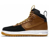 Кроссовки Nike Lunar Force 1 Duckboot Black Wood/White