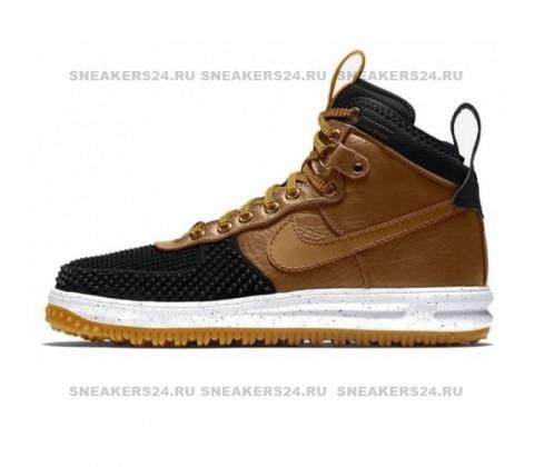 Кроссовки Nike Lunar Force 1 Duckboot Black Wood/White