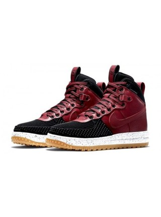 Кроссовки Nike Lunar Force 1 Duckboot Burgundy/Black