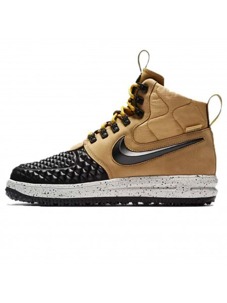 Кроссовки Nike Lunar Force 1 Duckboot Metallic Gold/Light Bone/Black