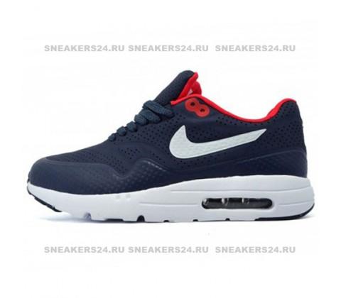Кроссовки Nike Air Max 1 Dark Blue/White