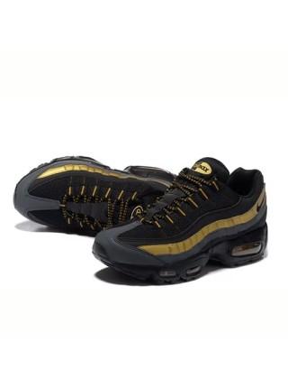 Кроссовки Nike Air Max 95 Black/Gold