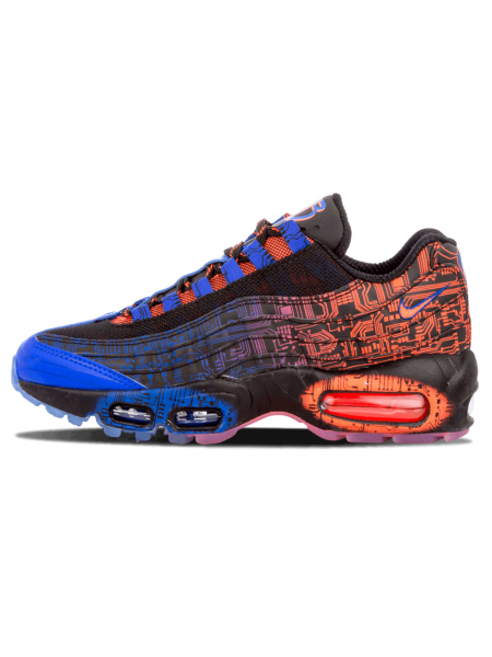 Кроссовки Nike Air Max 95 Premium Blue/Red