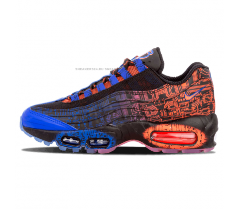 Кроссовки Nike Air Max 95 Premium Blue/Red