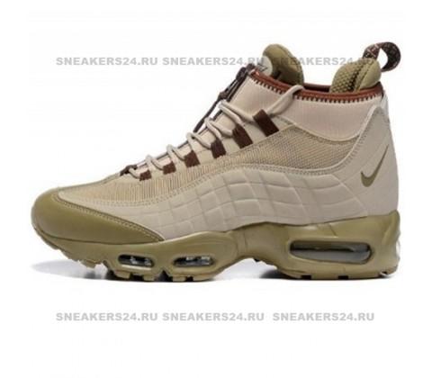 Кроссовки Nike Air Max 95 SneakerBoot Khaki/Matte Olive