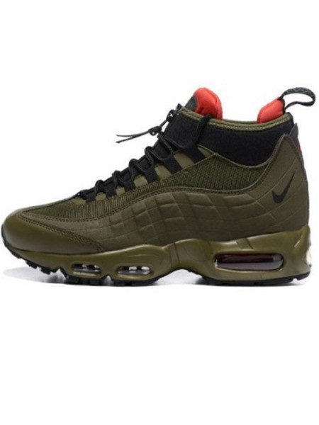 Кроссовки Nike Air Max 95 SneakerBoot Olive