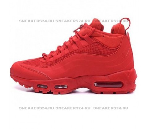 Кроссовки Nike Air Max 95 SneakerBoot Red