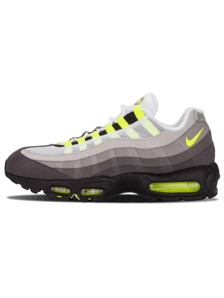 Кроссовки Nike Air Max 95 White/Black/Green