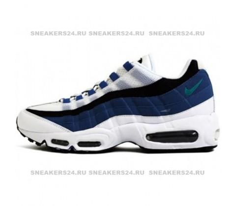 Кроссовки Nike Air Max 95 White/Blue