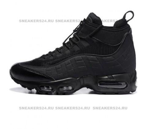 Кроссовки Nike Air Max 95 SneakerBoot Mid Black