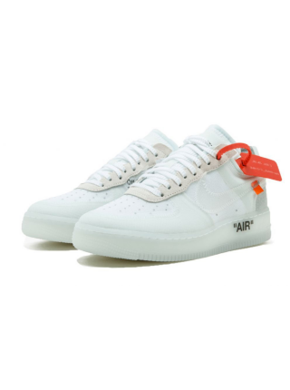 Кроссовки Nike Air Force Off White White