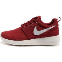 Кроссовки Nike Roshe Run Material Burgundy/White