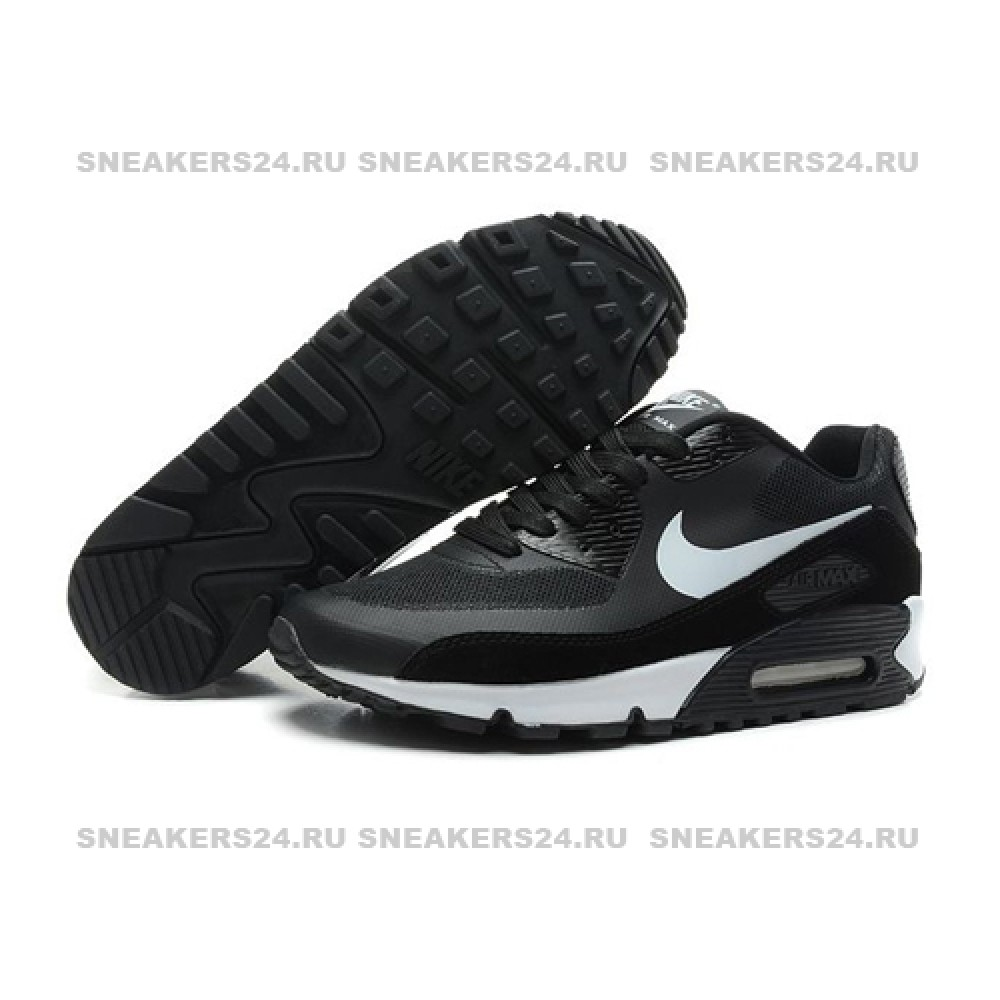 8b8a9b54 Кроссовки Nike Air Max 90 HyperFuse Black/White