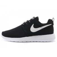 Кроссовки Nike Roshe Run Black White Volt