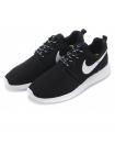 Кроссовки Nike Roshe Run Black White Volt