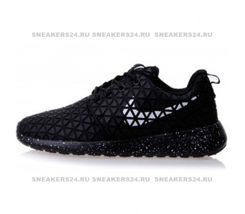 Кроссовки Nike Roshe Run Metric Supreme Black