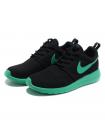 Кроссовки Nike Roshe Run Black/Turquoise