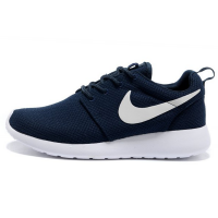 Кроссовки Nike Roshe Run Material Dark Blue/White