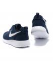Кроссовки Nike Roshe Run Material Dark Blue/White