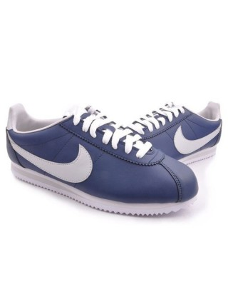 Кроссовки Nike Leather Cortez Dark Blue/Grey