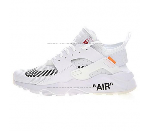 Кроссовки Nike Air Huarache x OFF White White