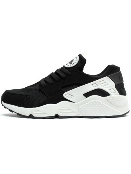 Кроссовки Nike Air Huarache Triple Black/White Luminous