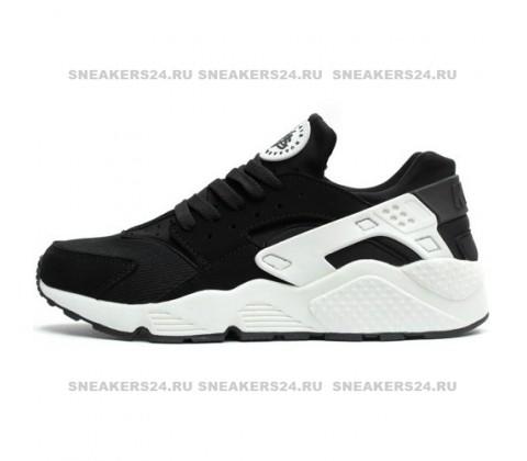 Кроссовки Nike Air Huarache Triple Black/White Luminous