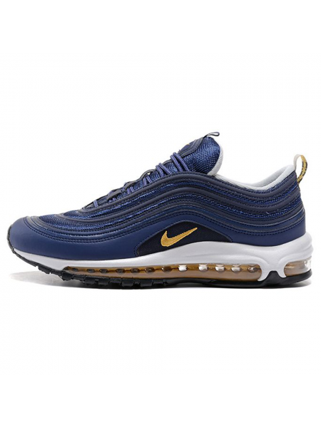 Кроссовки Nike Air Max 97 Midnight Navy/Metallic Gold