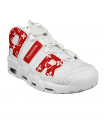 Кроссовки Nike Air More Uptempo x Supreme White/Red