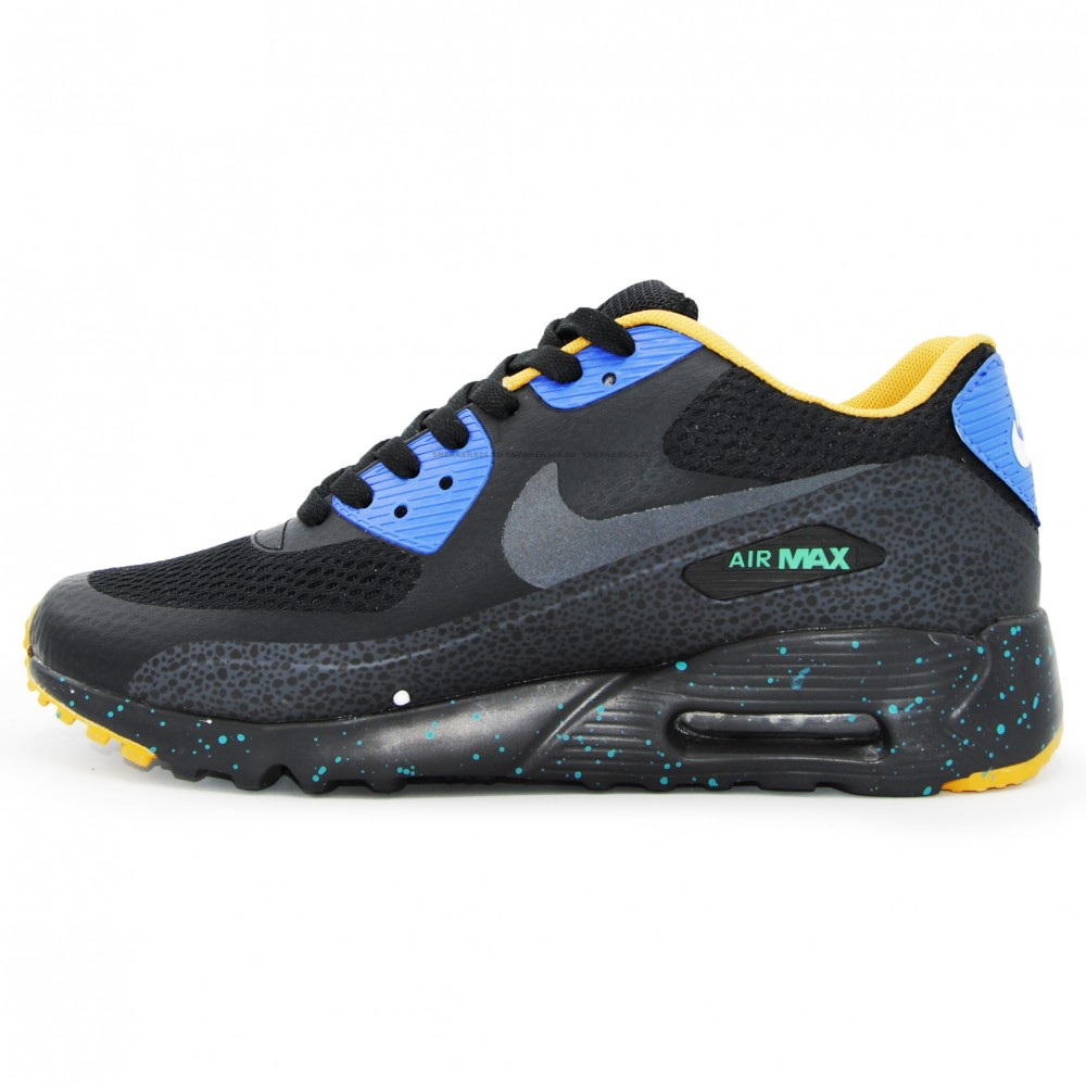 3e1751da40a7f7 Кроссовки Nike Air Max 90 Black/Blue