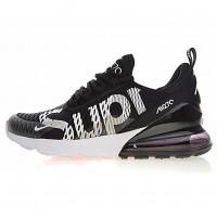 Кроссовки Nike Air Max 270 x Supreme Black/White