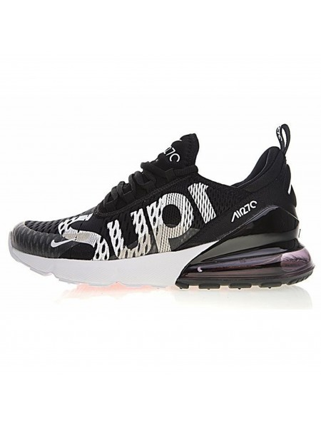 Кроссовки Nike Air Max 270 x Supreme Black/White