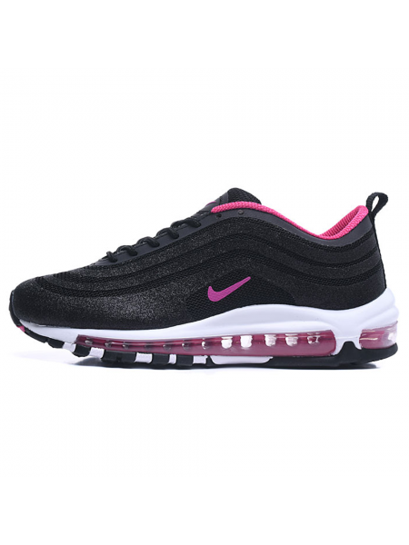 Кроссовки Nike Air Max 97 LX Swarowski Black/Pink/Purple