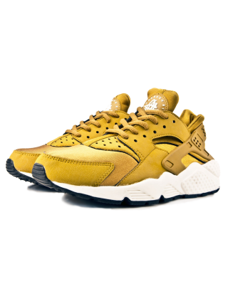 Кроссовки Nike Air Huarache Bronze/Yellow