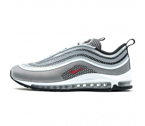 Кроссовки Nike Air Max 97 Ultra Silver/Red/Black/White