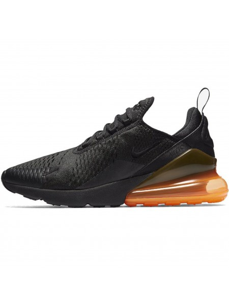Кроссовки Nike Air Max 270 Black/Total Orange